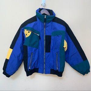 Obermeyer Blue Juniors Ski Snow Coat Jacket